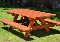 High Quality Solid Outdoor Timber Dining Tables And Furniture - High end picnic table