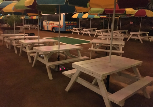 Pleasing Commercial Grade Picnic Tables Melbourne For Public Areas Interior Design Ideas Clesiryabchikinfo