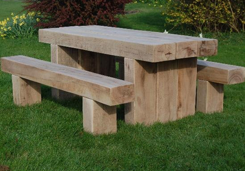 Heavy duty solid timber outdoor tables manufactured in Melbourne in a ...
