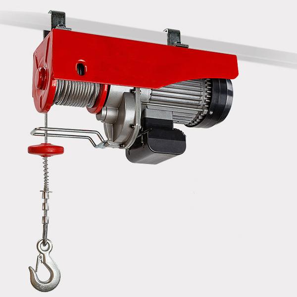 Electric Hoist Winch 600 1200kg 1 2 Ton Capacity 2000w